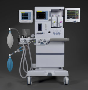 3D anaesthesia machine s 6100 model