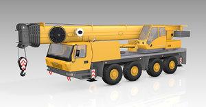 3D crane mobile gmk