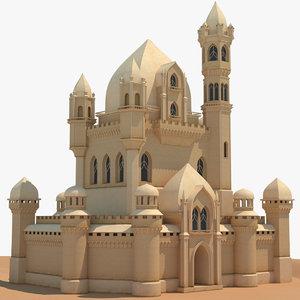 3D palace resolution 4k