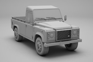 land rover defender 3D