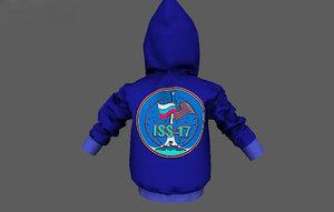 jacket kids 3D model