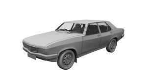 3D contessa car model