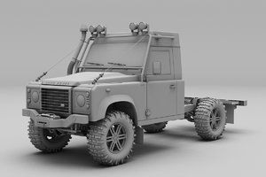 landrover land rover 3D model