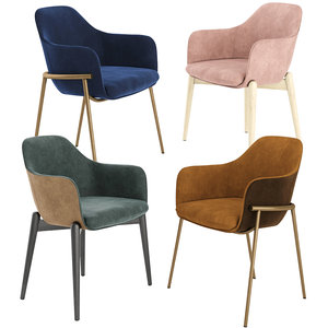 marelli chia chairs 3D model
