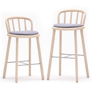 3D model bar stool nym 2838-a