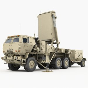 3D tpq-53 radar general counterfire