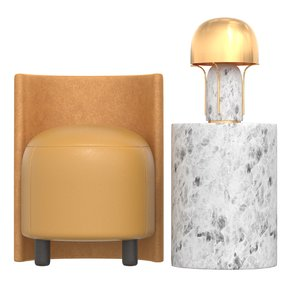 chair table lamp kelly model