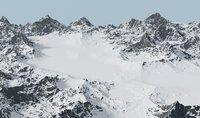 Snow Mountains Valley