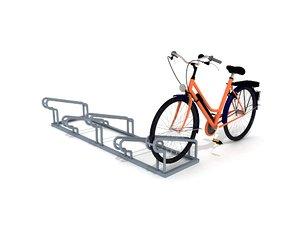 3D bicycle park model