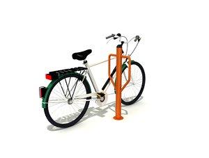 bicycle park 3D model