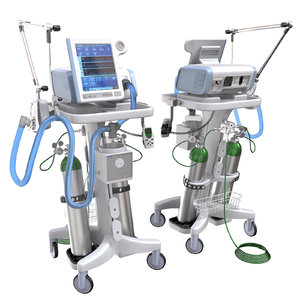 hospital ventilator 3D model