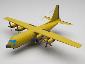 military plane 3D model