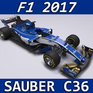 2017 sauber c36 model