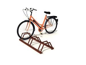 bicycle park 3D