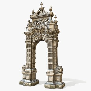 3D old arch massandra