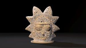 rick voronoi 3D model