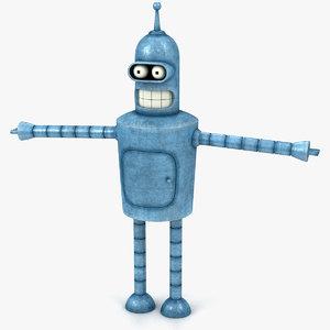 robot body 3D model