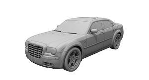 chrysler 300 car 3D model