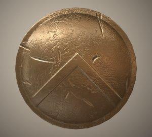 spartan shield 3D