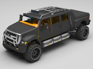 suv truck 3D model
