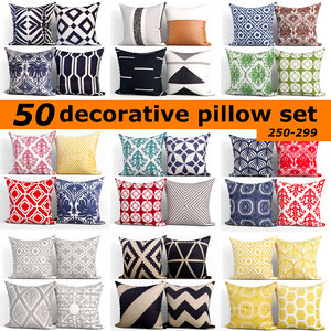 3D 50 decorative set pillow