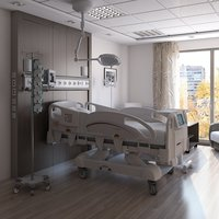 Medical Patient Room 2