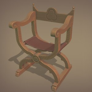 dantesca chair 3D
