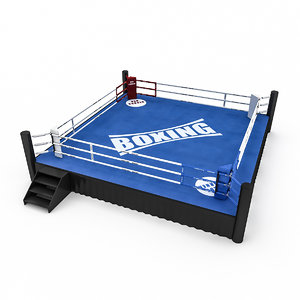 boxing area 2 3D model