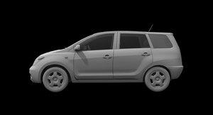 innova car 3D model