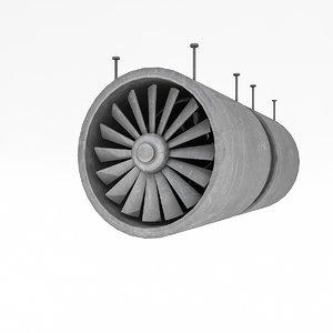 tunnel ventilation 3D