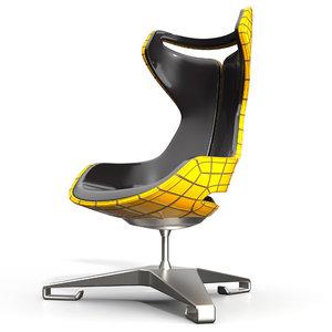 interior modern chair 3D