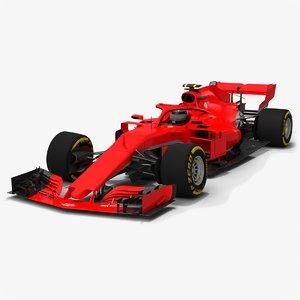 3D horsari hs71-h formula 1
