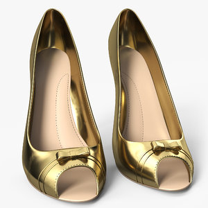 women shoes 3D model