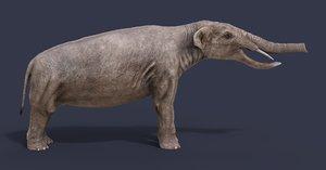 3D platybelodon model