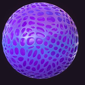 sphere design 3D model