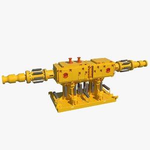 subsea manifold model