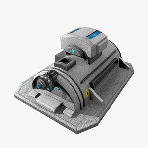 3D model power supply