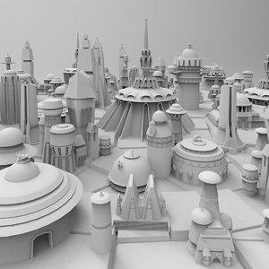 3D kitbash 26 pack buildings