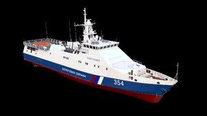 3D rubin-class patrol boat project