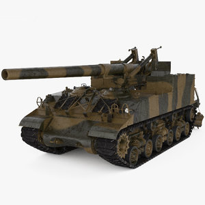 3D m40 gun motor model