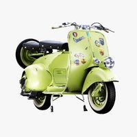 1946 Vespa Faro Basso Rust