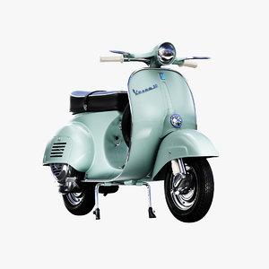 3D 1963 vespa 50 model