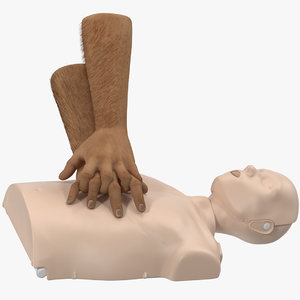 3D aid training cpr dummy