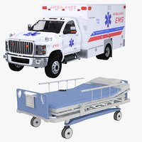 2020 International EMS Ambulance and Hospital Bed Collection