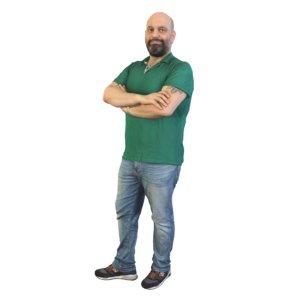 guy standing 3D model