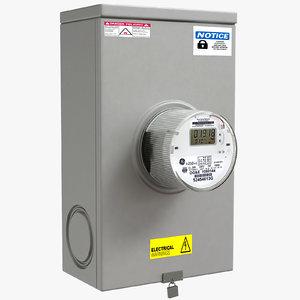 meter electric model