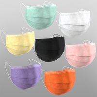 Medical masks - 7 colors
