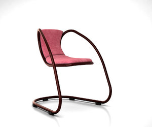 3D cantilever chair luxy timeless model