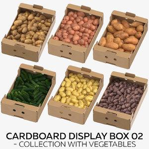 3D cardboard display box 02