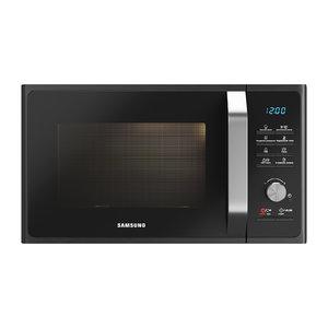microwave samsung mg23f302tqk 3D model